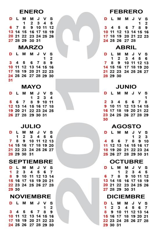 calendario-2013-blanco-y-negro