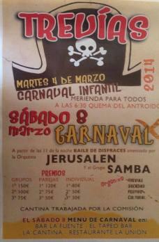 carnaval en Trevías