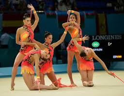 Equipo nacional de Rítmica en Kiev