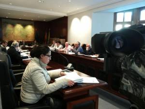 último Pleno. Foto de David Suárez Fuente.