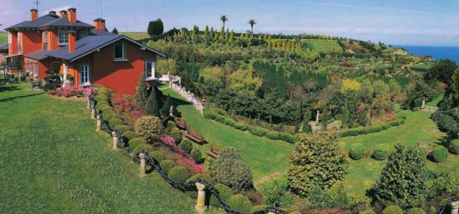 La finca y los jardines de la fonte baixa en venta la for Jardines de la fonte baixa