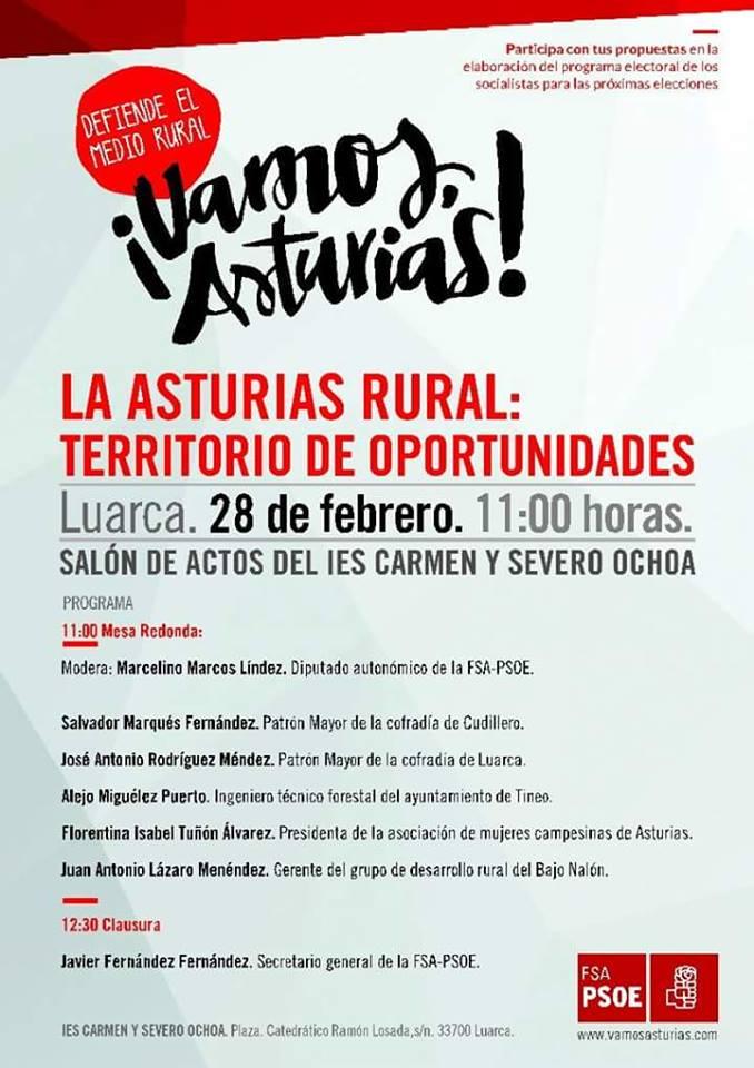 asturias rural charla