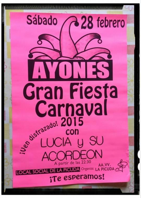 carnaval ayones