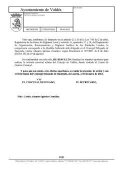 firma del concejal de hacienda